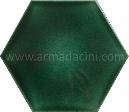 Green Flat Porcelain Hexagon Ceramic Tile, Kütahya Ceramic, Mosque Ceramics, Turkish bath, mosque, Bathroom hotel decoration, prices hexagon tile decoration examples