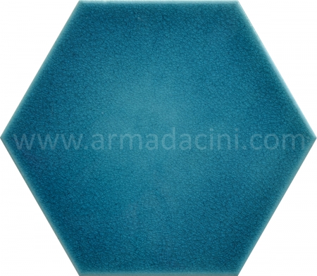Turquoise Flat Porcelain Hexagon Ceramic Tile, Kütahya Ceramic, Mosque Ceramics, Turkish bath, mosque, Bathroom hotel decoration, prices hexagon tile decoration examples