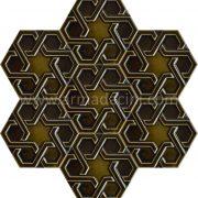 Zeytin Rolyefli Porselen Altıgen Cini, Kutahya çinisi, Cami çinileri, Türk hamamı, mosque, Banyo otel dekorasyon, fiyatları hexagon tile decoration örnekler