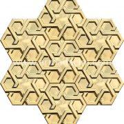 Altın Rolyefli Porselen Altıgen Cini, Kutahya çinisi, Cami çinileri, Türk hamamı, mosque, Banyo otel dekorasyon, fiyatları hexagon tile decoration örnek