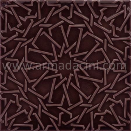 25x25 PR-370 Mangan Rolyeflı Porselen Cını Karo, Kütahya porselen seramik iznik çini banyo mutfak tezgah otel türk hamamı dekorasyon örnekleri, fiyatları