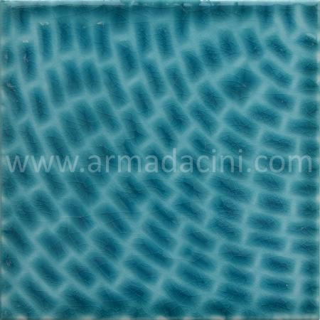 25x25 PS-399 Turkuaz / Donence Porselen Cını Karo, Kütahya porselen seramik iznik çini banyo mutfak tezgah otel türk hamamı dekorasyon örnekleri, fiyatları