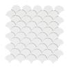 PC-816 Beyaz Balık Pulu Fileli Mozaik Porselen Cini, Kütahya porselen, Kutahya seramik, iznik çini, sırlı, mat, banyo, mutfak, tezgah arası, havuz, otel, spa, türk hamamı, kolon kaplama, modelleri, dekorasyon, örnekleri, interior, mosaic, tiles, porcelain, tile, mosque, hotel, ceramic, bathroom, decoration, fiyatları,