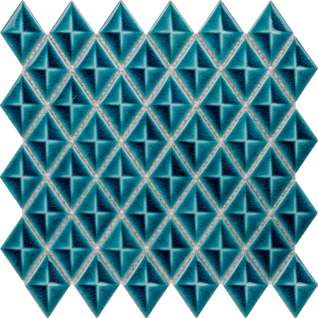 PC-824 Firuze Baklava Porselen Fileli Mozaik Cini Kütahya porselen Kutahya seramik iznik çini sırlı mat banyo mutfak tezgah arası havuz otel türk hamamı kolon kaplama modelleri dekorasyon örnekleri, interior mosaic tiles porcelain tile mosque hotel ceramic decoration fiyatları