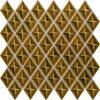 PC-825 Karamel Baklava Fileli Mozaik Cini Porselen Kütahya porselen Kutahya seramik iznik çini sırlı mat banyo mutfak tezgah arası havuz otel türk hamamı kolon kaplama modelleri dekorasyon örnekleri, interior mosaic tiles porcelain tile mosque hotel ceramic decoration fiyatları