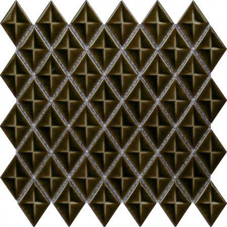 PC-827 Zeytin Baklava Fileli Mozaik Porselen Cini Kütahya porselen Kutahya seramik iznik çini sırlı mat banyo mutfak tezgah arası havuz otel türk hamamı kolon kaplama modelleri dekorasyon örnekleri, interior mosaic tiles porcelain tile mosque hotel ceramic decoration fiyatları