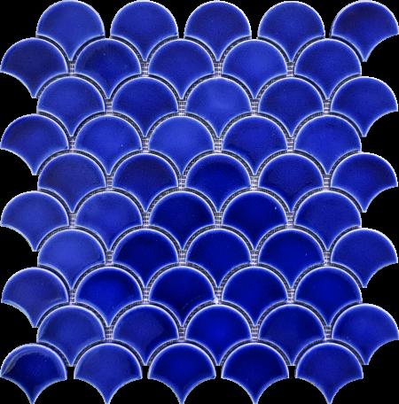 PC-813 Kobalt Balık Pulu Fileli Mozaik