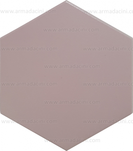Plain Pink Hexagonal Colored Ceramic Tile Glossy Matte Glazed Unglazed Non-Slip Floor Ceramic Tile Floor Tile Water Resistant Thick