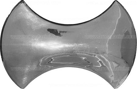 Parlak Gümüş Kaplama Kemik Şekilli Çini Karo Seramik şekilli kabartmalı rölyefli rölyefsiz mat kaplama rolyef 3d şekilli 3 boyutlu üç boyutlu çini karo seramik modelleri