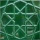 20x20 Zümrüt Yeşili Rölyefli Selçuk Yıldızı Çini Karo