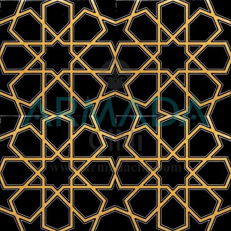 20x20 SP-89-a Des20x20 SP-89-a Desenli Iznik Tile Tile Model (Turkmen Star) Yellow Black Coffee color K.Renge colored relief Mosque Mihrap Minbar Tribe Chineseenli İznik Çini Karo Modeli (Türkmen Yıldızı) Sarı Siyah Kahve rengi K.Rengi renkli kabartmalı Cami Mihrap Minber Kürsü Çinileri Çinisi
