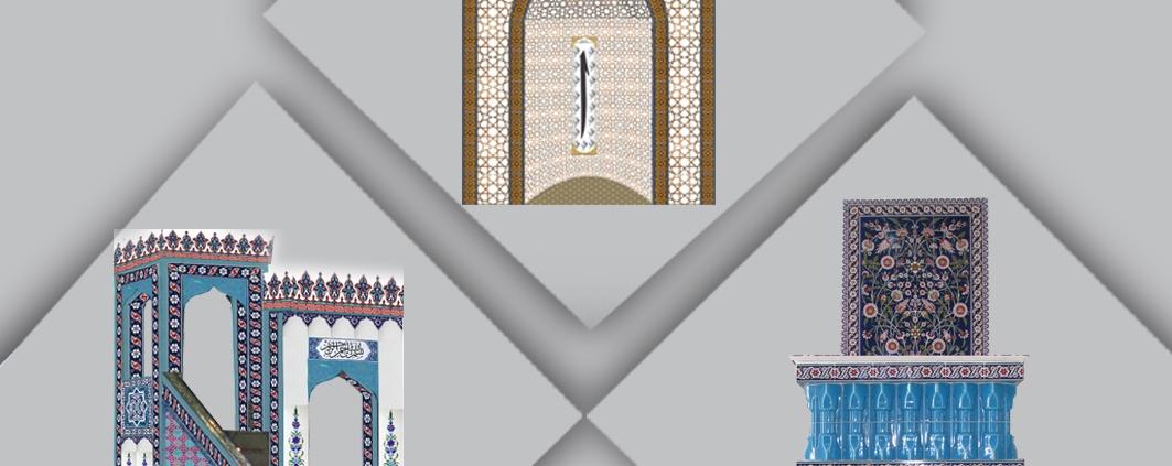 Cami Ürünleri Mihrap Mimber ve Kürsü