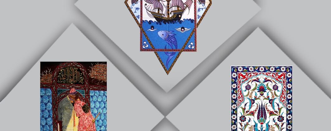 El Dekoru çini karo desenleri