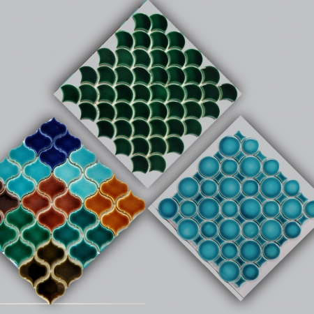Mosaic Porcelain Ceramic Tiles
