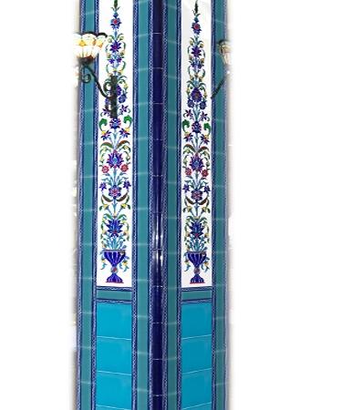 Cami çini Kolonları model ve örnekleri