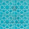 Turkuaz renkli kütahya iznik çinisi cini karo selçuklu yildizi geometrik desenli çini fiyatları desenleri modelleri türk hamamı cami çinisi