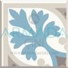 Desenli Yer Çinisi Seramiği Turkuaz Bej Renkli Yuvarlak Desenli Yer Çinisi Seramiği İnce Kalın Mat Parlak Çimento Bazlı Zemin Dekoratif Seramikler Çiniler