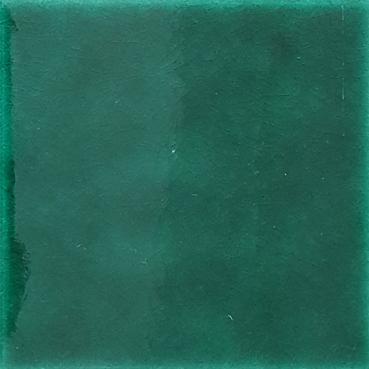 20x20 Cm Düz Yeşil Çini Seramik Karo