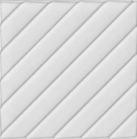 20x20 Cm Linea Beyaz Modern Desenli Çini Seramik Karo