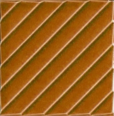 20x20 Cm Linea Karamel Modern Desenli Çini Seramik Karo