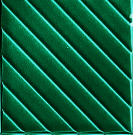 20x20 Cm Linea Yeşil Modern Desenli Çini Seramik Karo