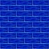 7x21 Cm Gölgeli Kobalt Desenli Çini Seramik karo
