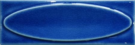 07x21 Kobalt Elips Çini Sırlı Bordür modeli