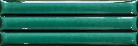 07x21 Yeşil Bambu Çini Sırlı Bordür modeli