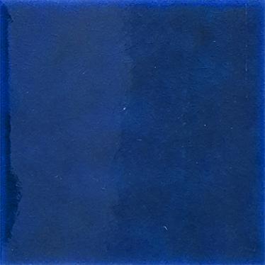 12,5x12,5 Cm Düz Kobalt Çini Seramik Karo