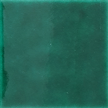 12,5x12,5 Cm Düz Yeşil Çini Seramik Karo