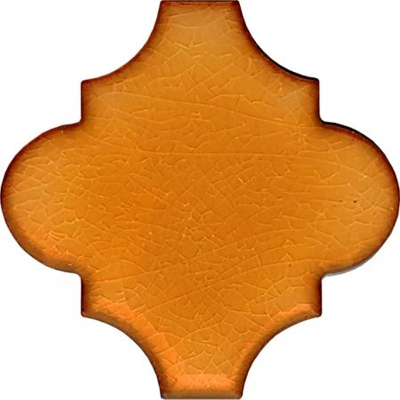 12x12 Ottoman Düz Arabesk Karamel Çini Karo Seramik
