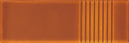 7x21 Cm Çizgili Karamel Desenli Çini Seramik karo