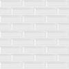7x21 Cm Metro Beyaz Desenli Çini Seramik karo
