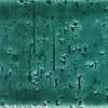 7x22 Cm Tuğla Yeşil Desenli Çini Seramik karo