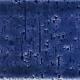 7x22 Cm Tuğla Kobalt Desenli Çini Seramik karo